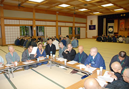 38th seminar Discussion at Koyasan