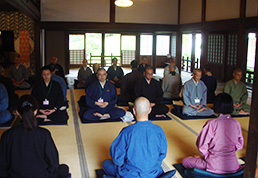 39th seminar at Kenchoji
